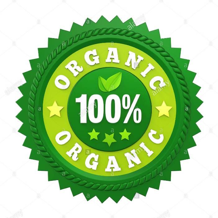 organic authenticity badge
